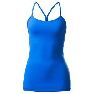 NWT Lululemon Power Y Tank (Luon) Pipe Dream Blue